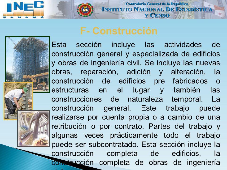F- Construcción