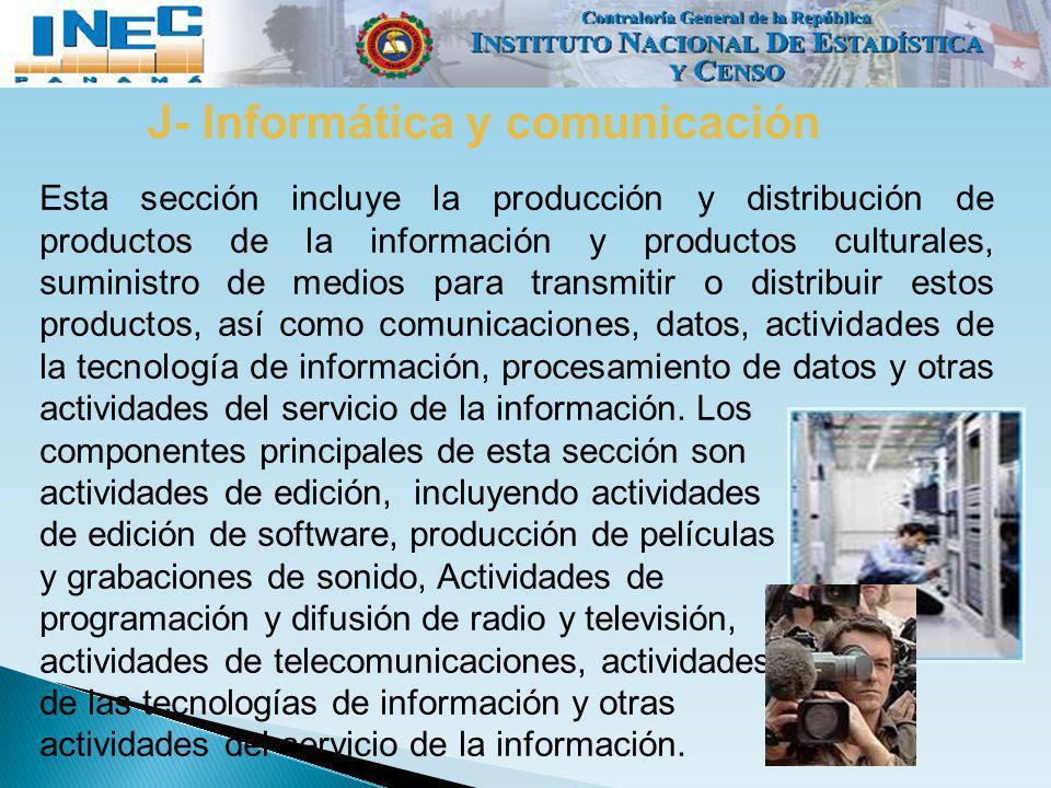 J- Informática y comunicación