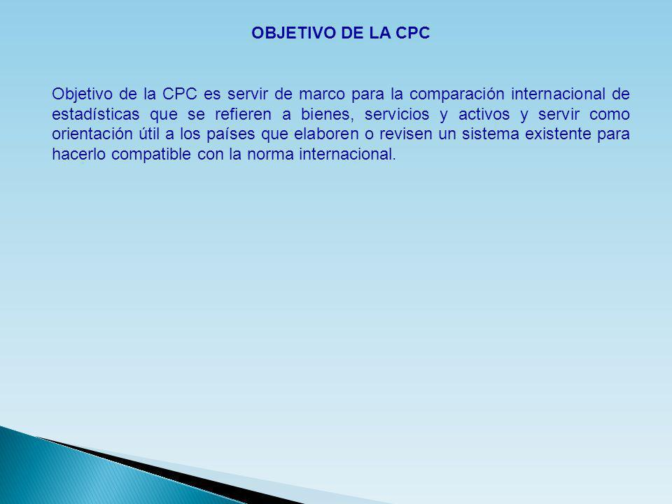 OBJETIVO DE LA CPC