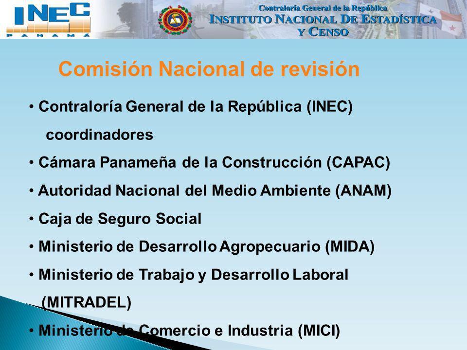 Comisión Nacional de revisión