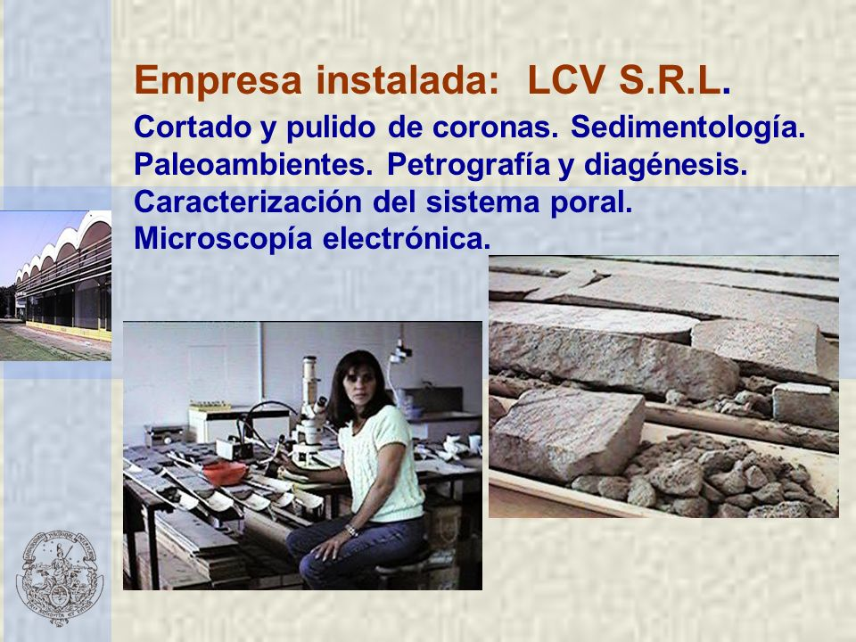 Empresa instalada: LCV S.R.L.