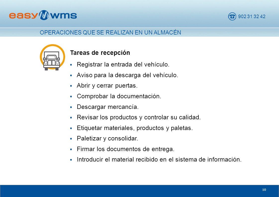 Registrar la entrada del vehículo.