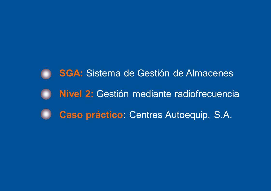SGA: Sistema de Gestión de Almacenes
