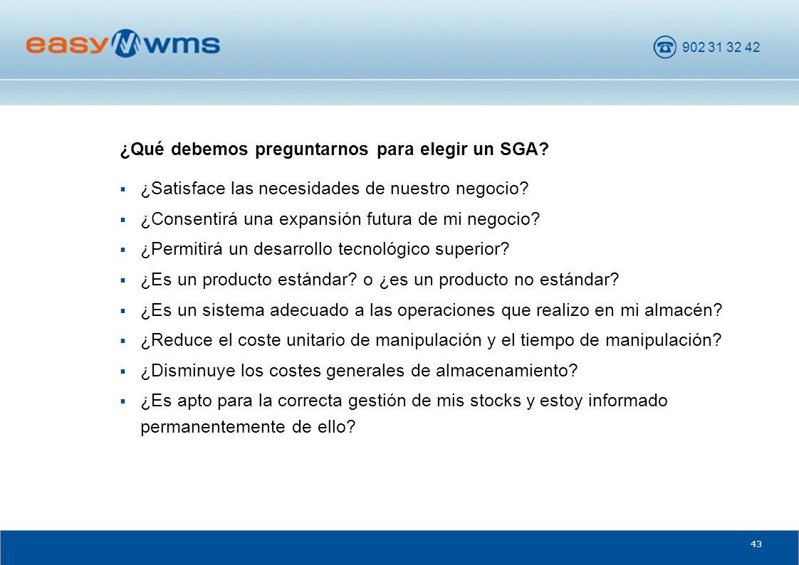 ¿Qué debemos preguntarnos para elegir un SGA