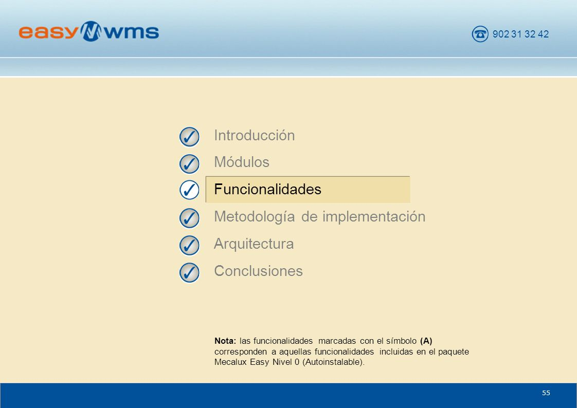 Metodología de implementación Arquitectura Conclusiones