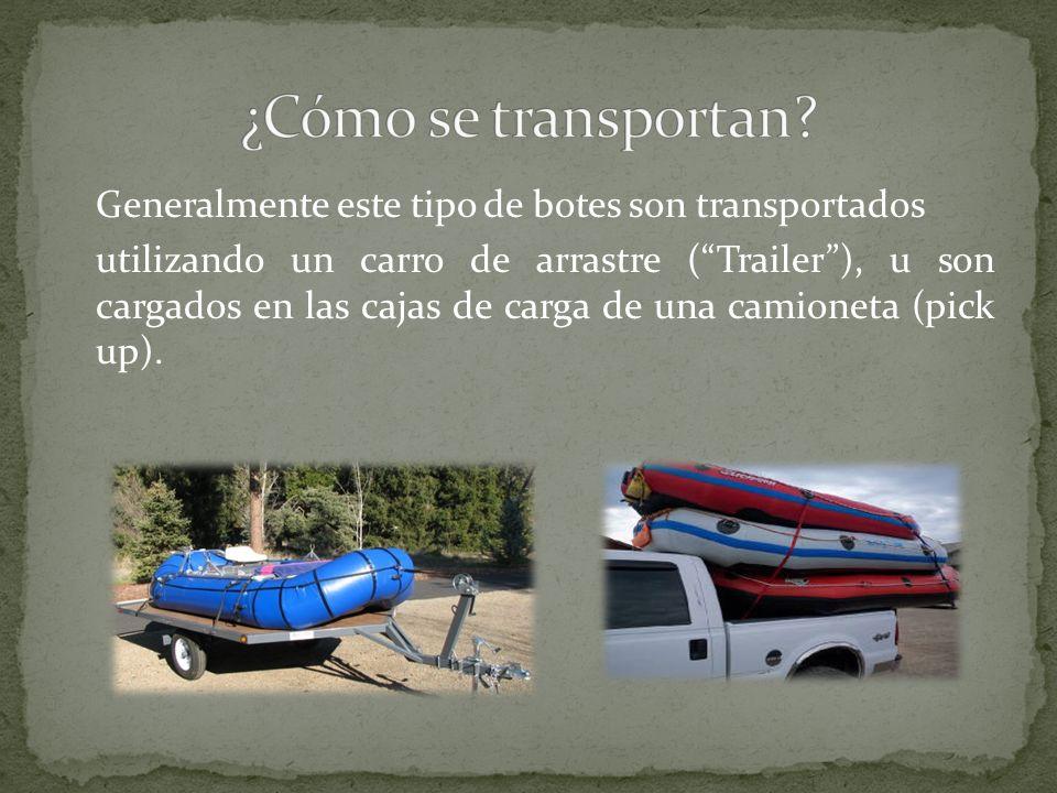 ¿Cómo se transportan