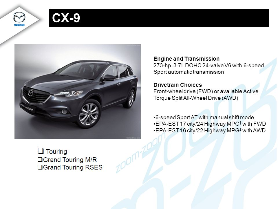 CX-9 Engine and Transmission