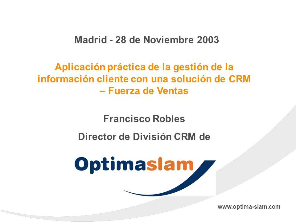 Director de División CRM de