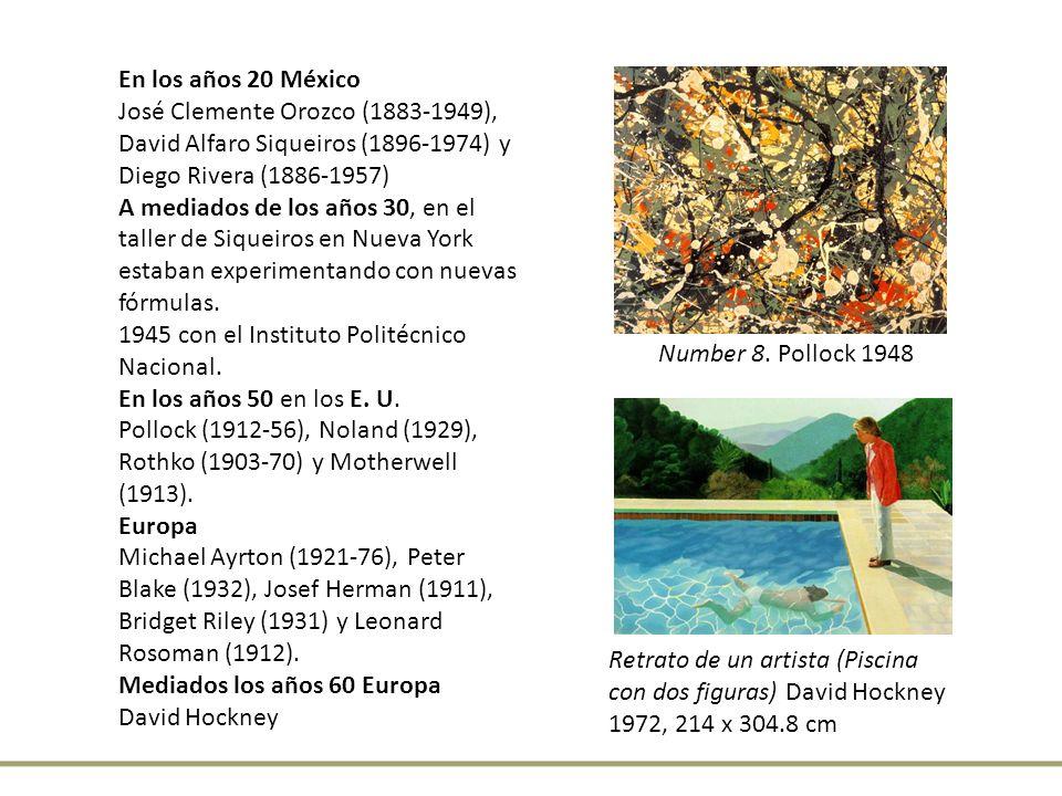 En los años 20 México José Clemente Orozco (1883-1949), David Alfaro Siqueiros (1896-1974) y Diego Rivera (1886-1957)