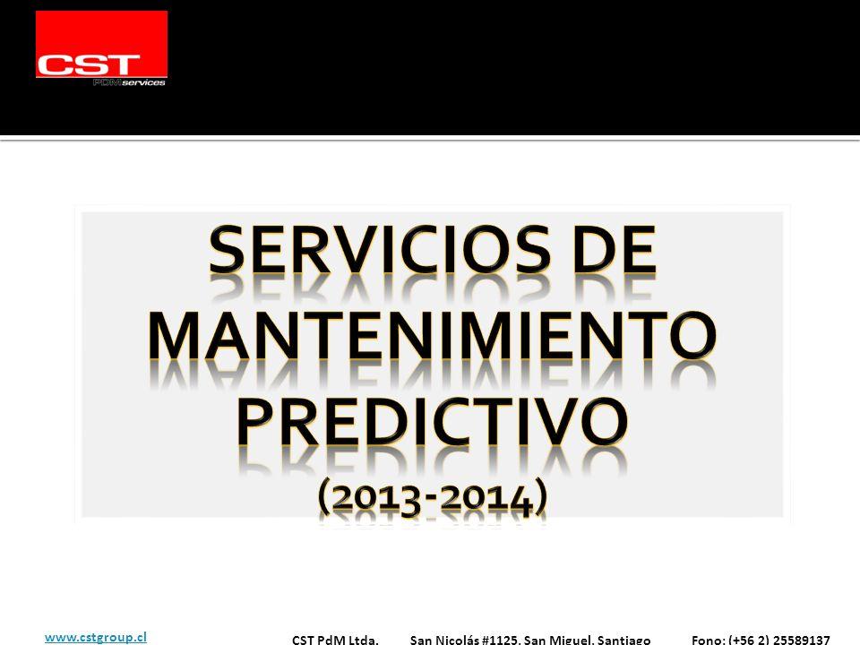 Servicios de Mantenimiento Predictivo