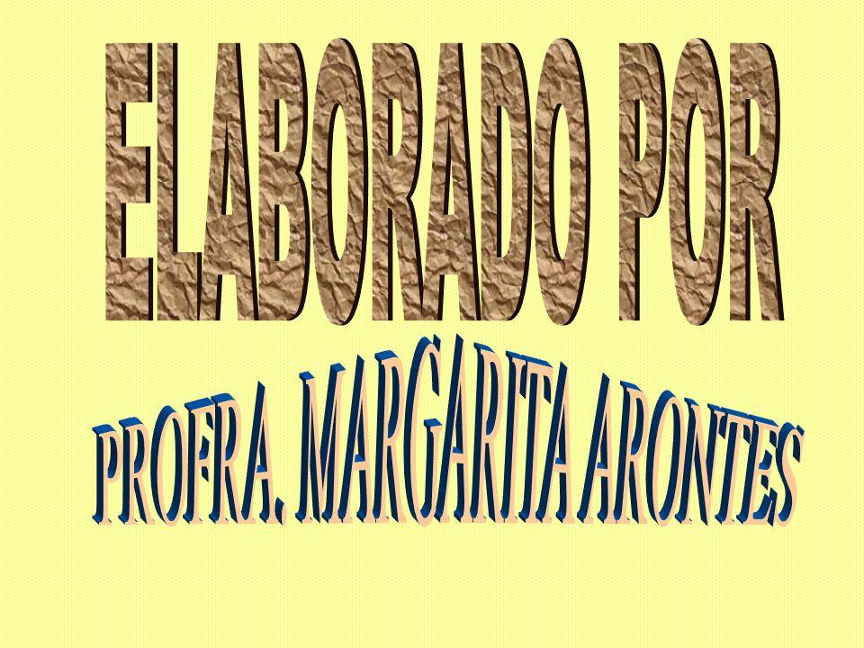 PROFRA. MARGARITA ARONTES