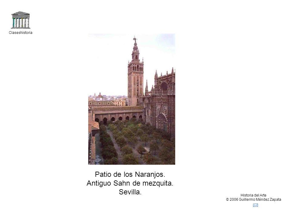 Antiguo Sahn de mezquita. Sevilla.