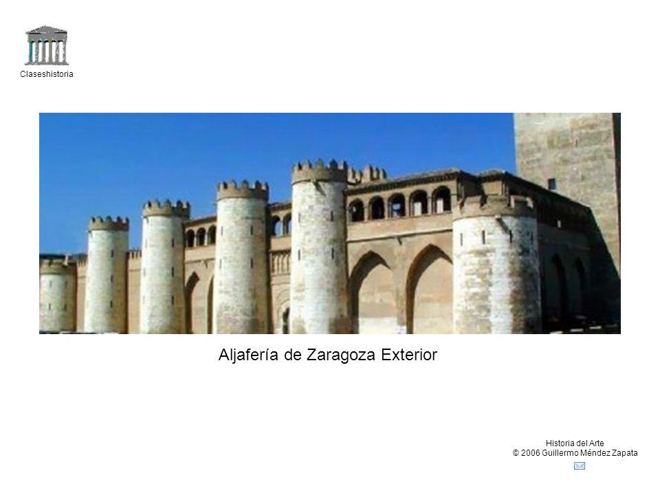 Aljafería de Zaragoza Exterior