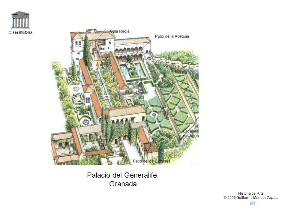 Palacio del Generalife. Granada