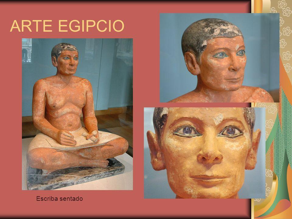 ARTE EGIPCIO Escriba sentado