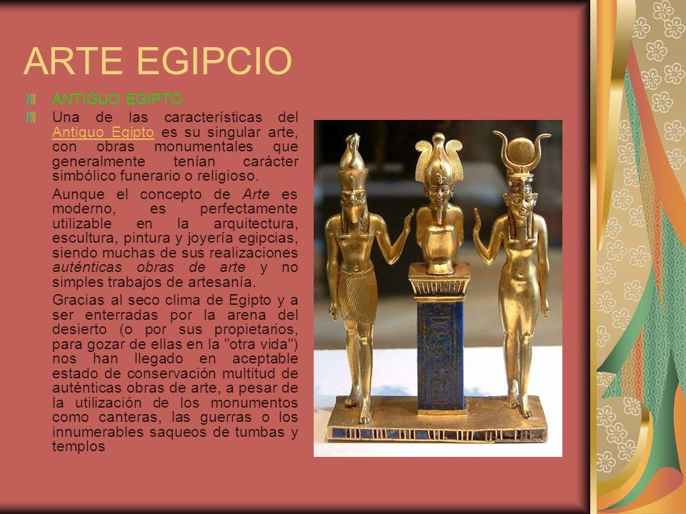 ARTE EGIPCIO ANTIGUO EGIPTO