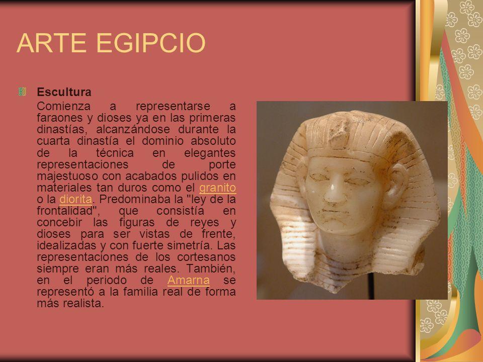 ARTE EGIPCIO Escultura