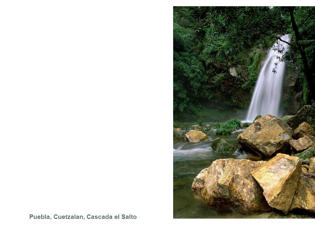 Puebla, Cuetzalan, Cascada el Salto