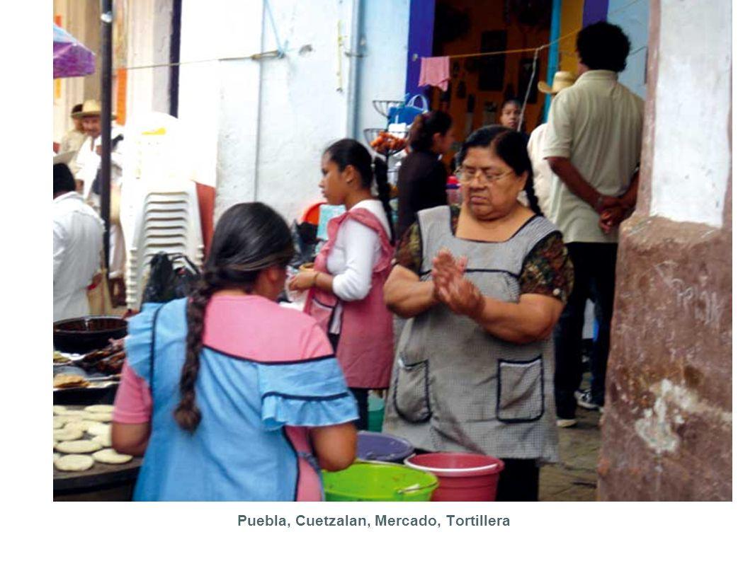 Puebla, Cuetzalan, Mercado, Tortillera