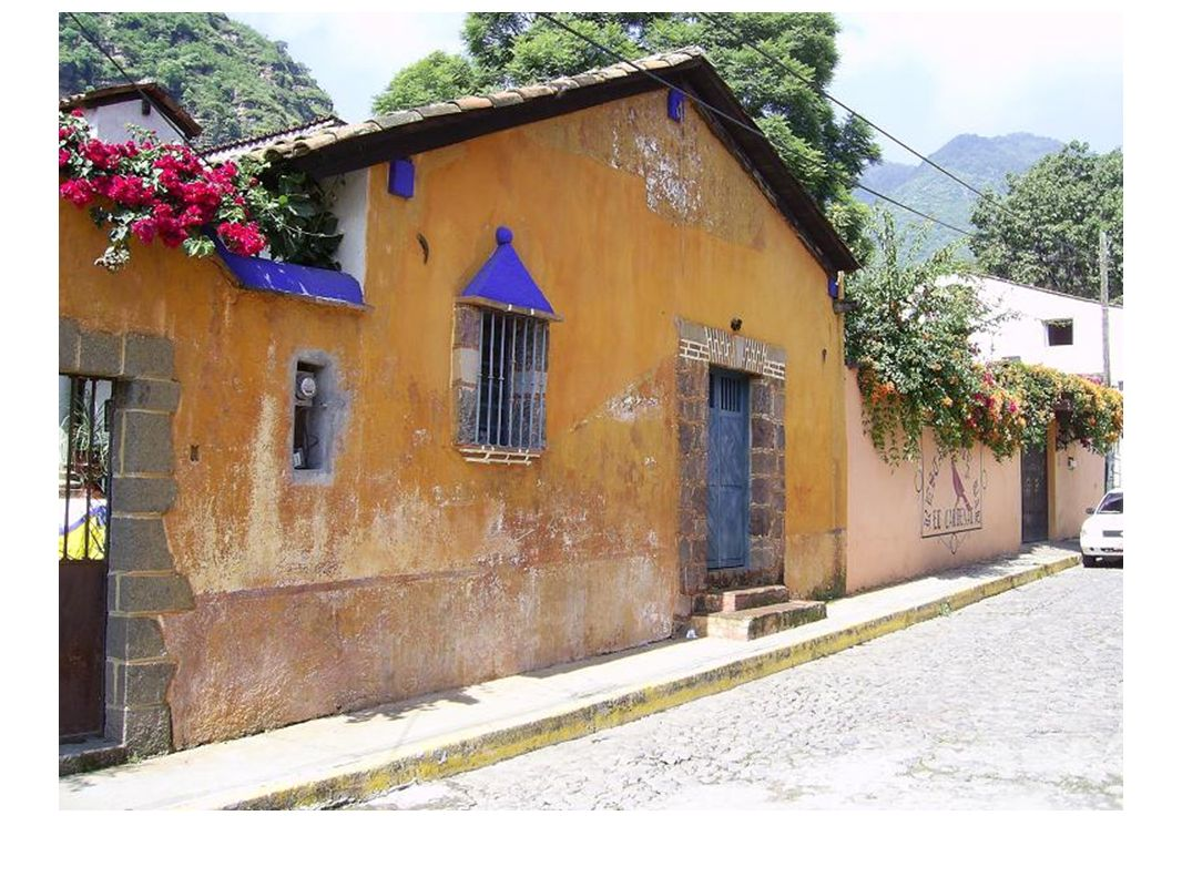 Casa típica de Malinalco