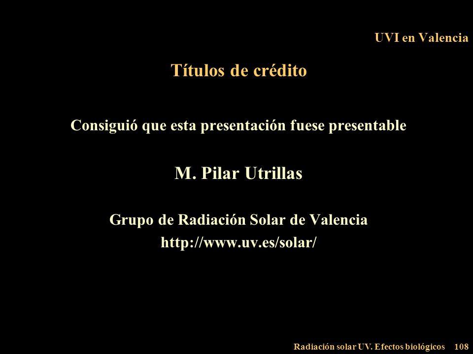 Títulos de crédito M. Pilar Utrillas