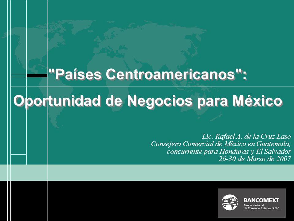 Países Centroamericanos : Oportunidad de Negocios para México