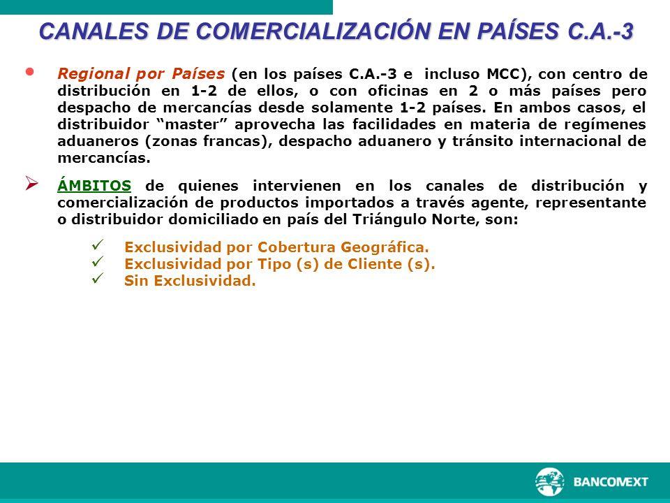 CANALES DE COMERCIALIZACIÓN EN PAÍSES C.A.-3
