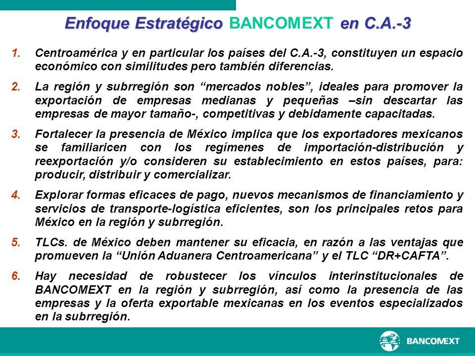 Enfoque Estratégico BANCOMEXT en C.A.-3