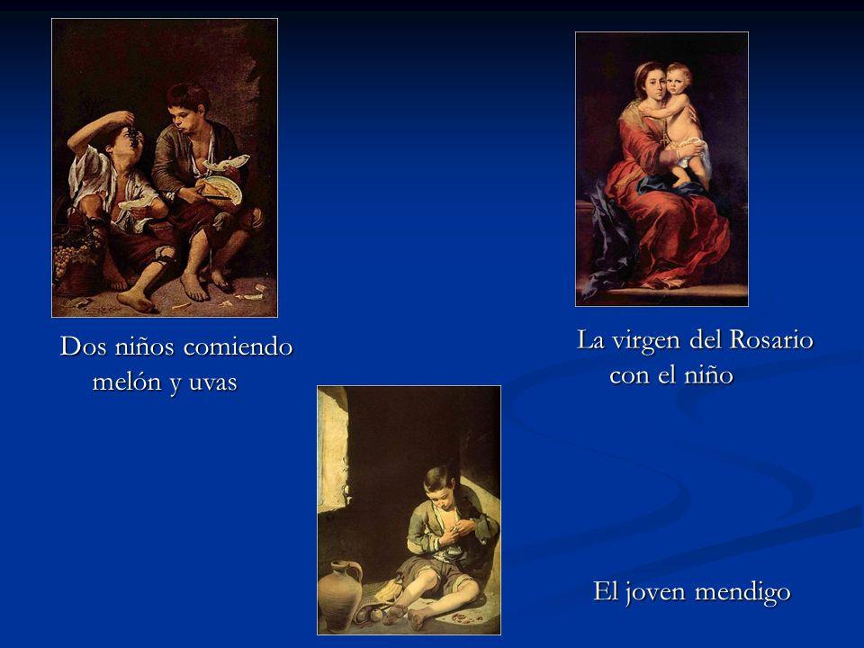 La virgen del Rosario con el niño