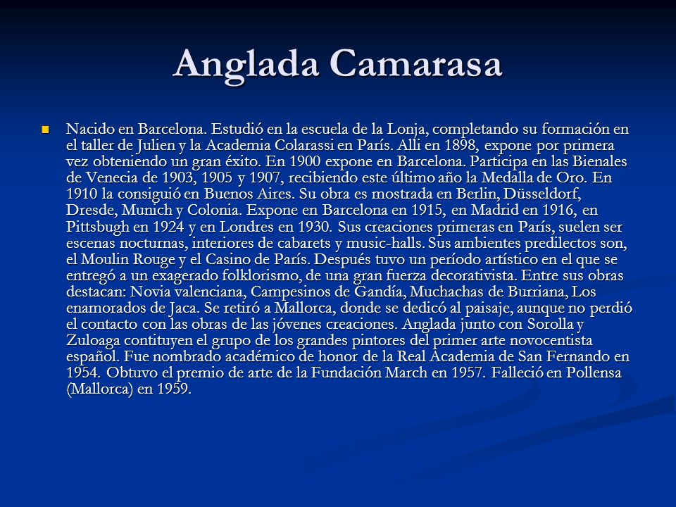 Anglada Camarasa