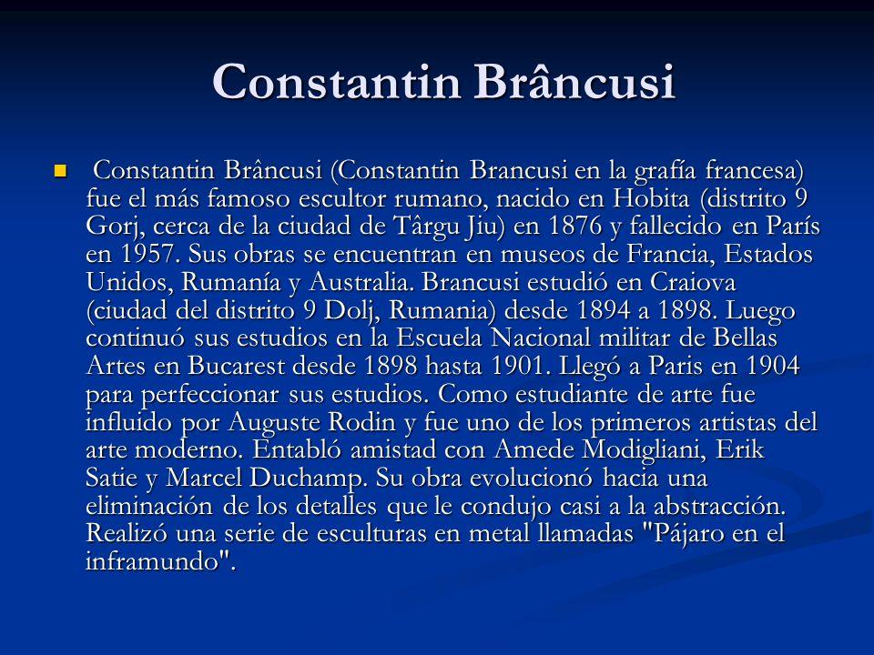 Constantin Brâncusi