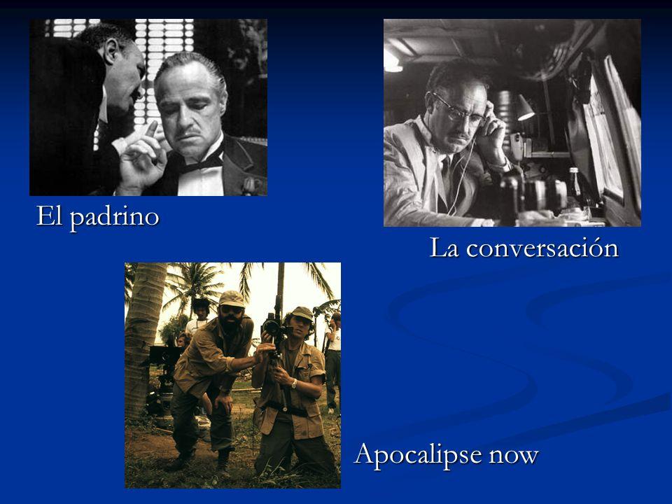 El padrino La conversación Apocalipse now