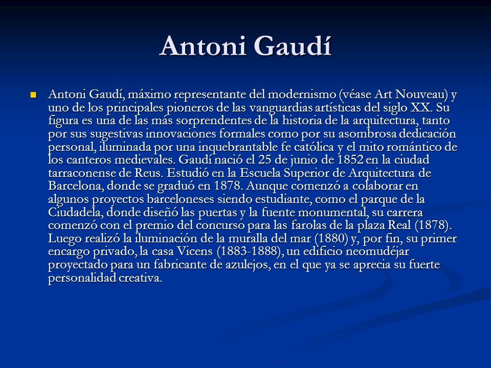 Antoni Gaudí