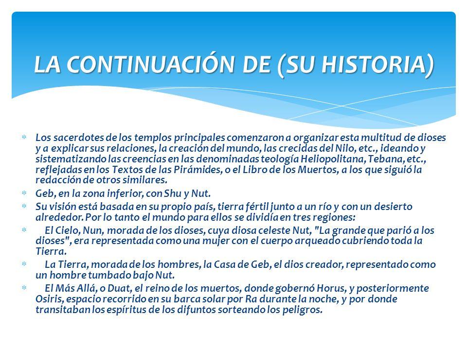 LA CONTINUACIÓN DE (SU HISTORIA)