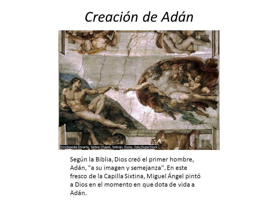 Creación de Adán