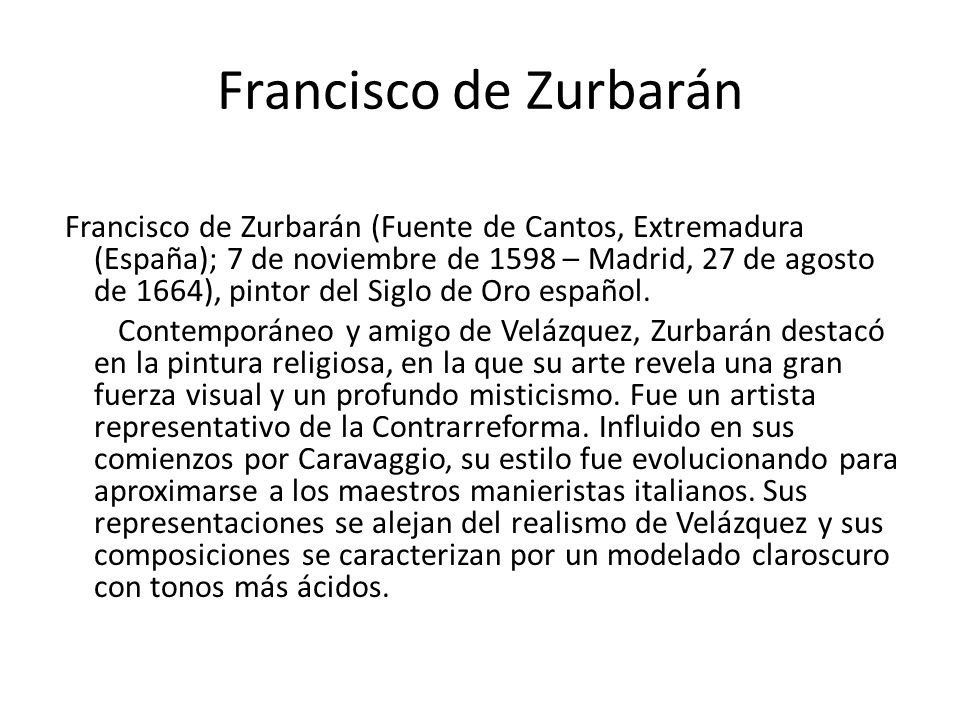 Francisco de Zurbarán