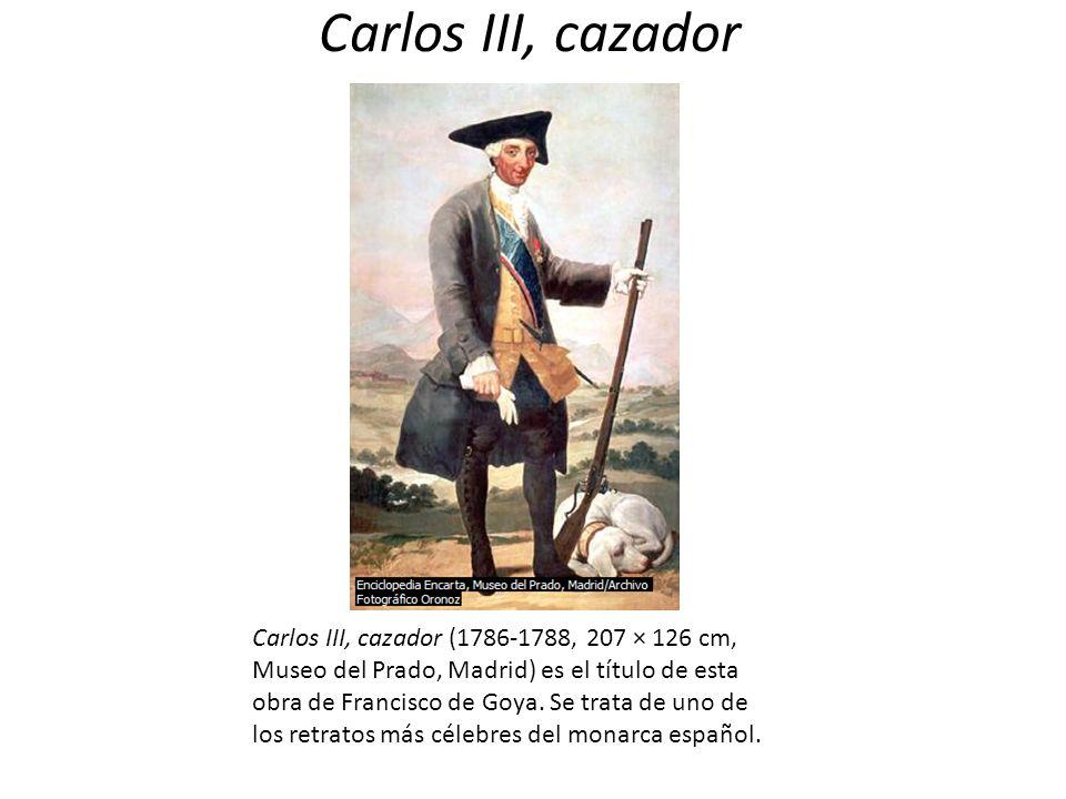 Carlos III, cazador