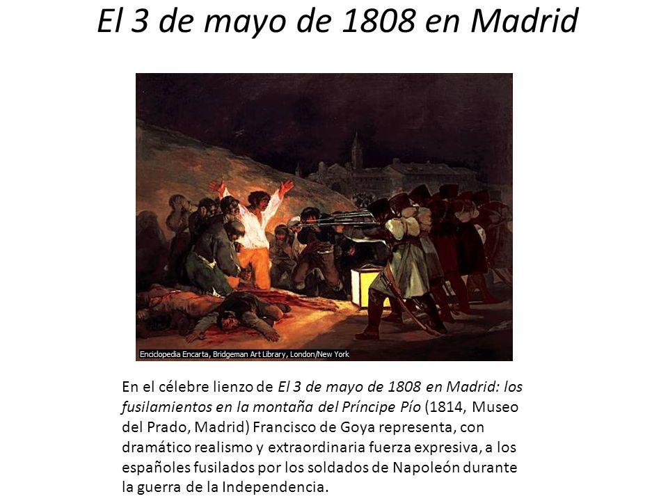 El 3 de mayo de 1808 en Madrid