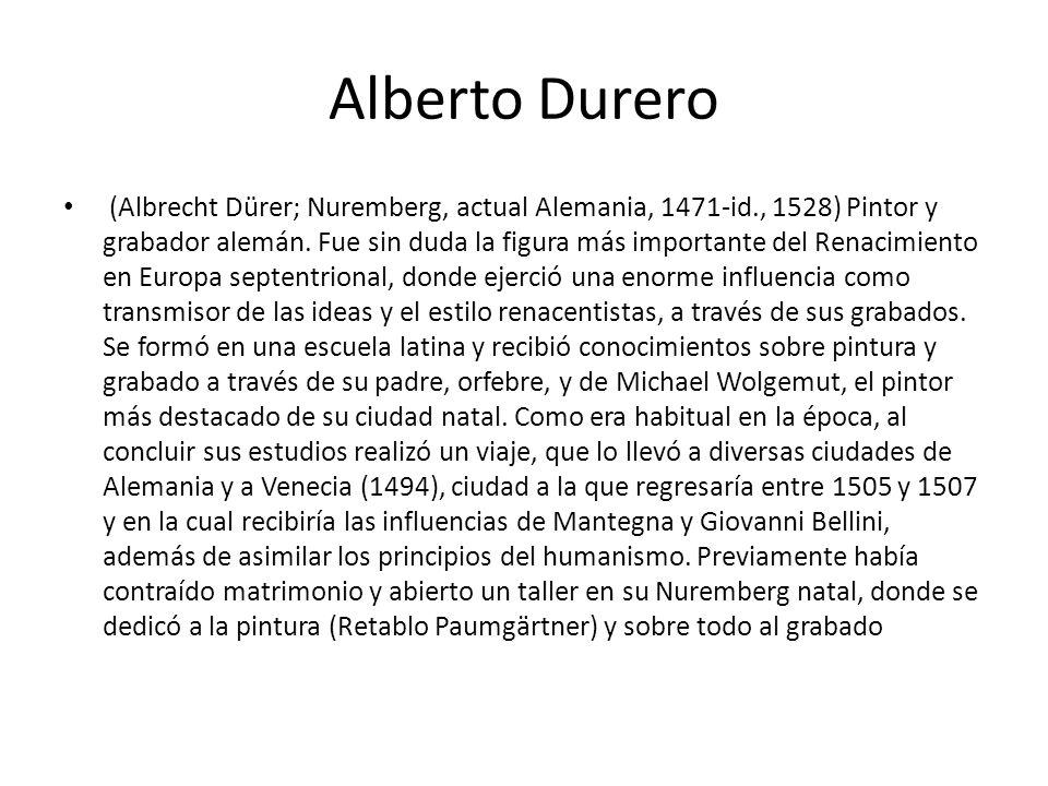 Alberto Durero