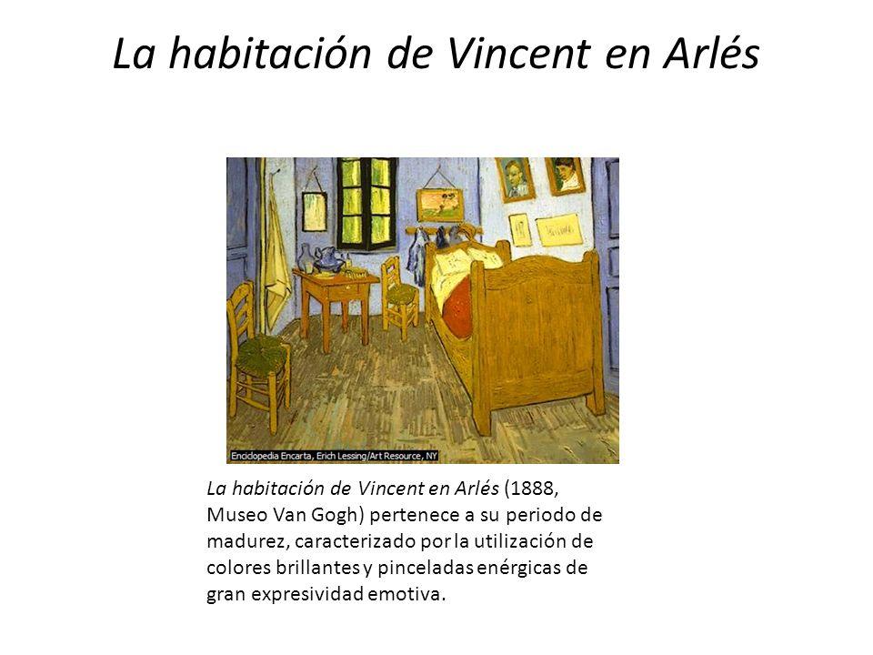 La habitación de Vincent en Arlés