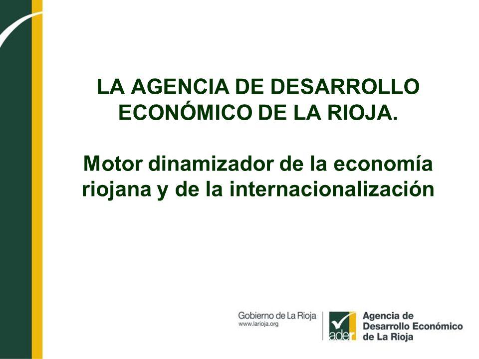 LA AGENCIA DE DESARROLLO ECONÓMICO DE LA RIOJA