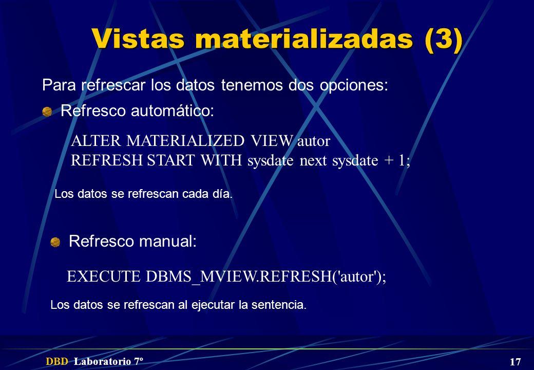Vistas materializadas (3)