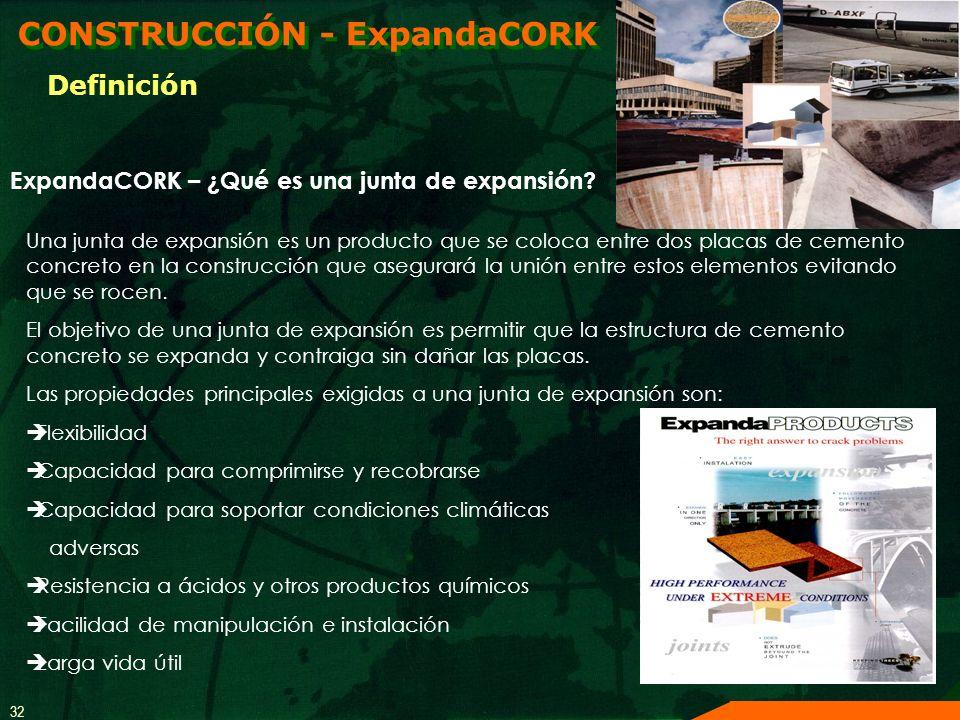 CONSTRUCCIÓN - ExpandaCORK
