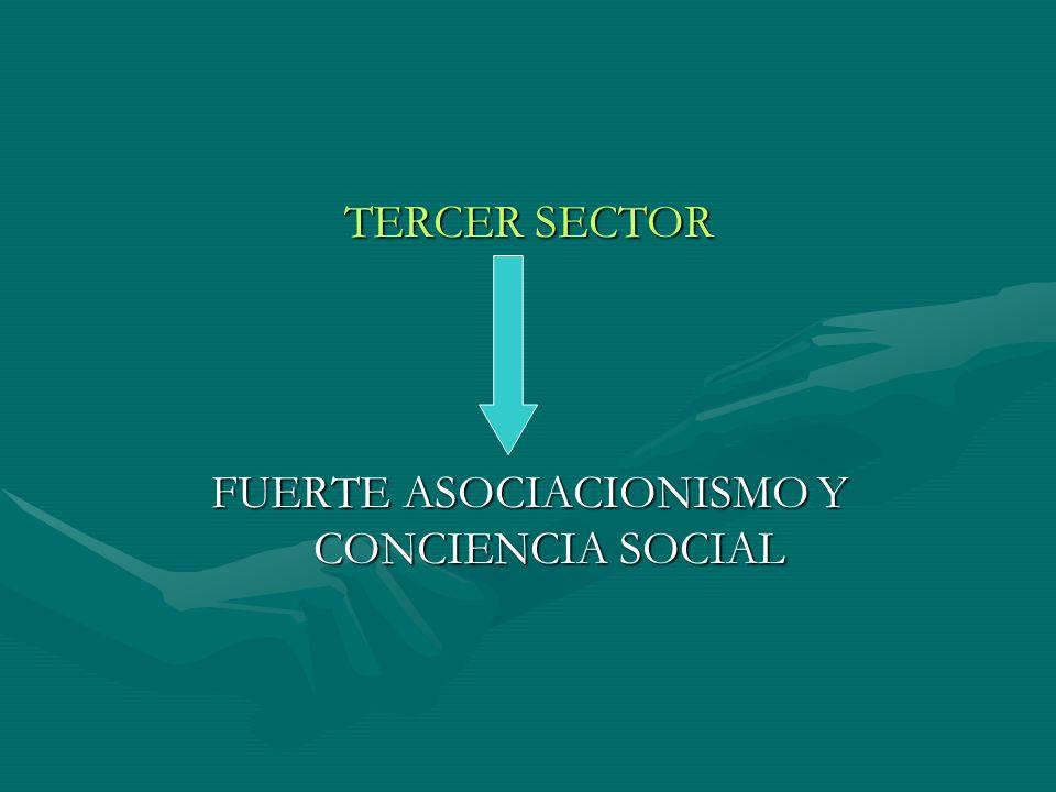 FUERTE ASOCIACIONISMO Y CONCIENCIA SOCIAL