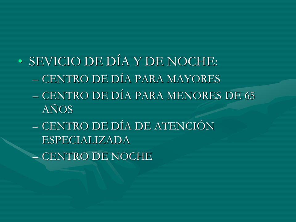 SEVICIO DE DÍA Y DE NOCHE: