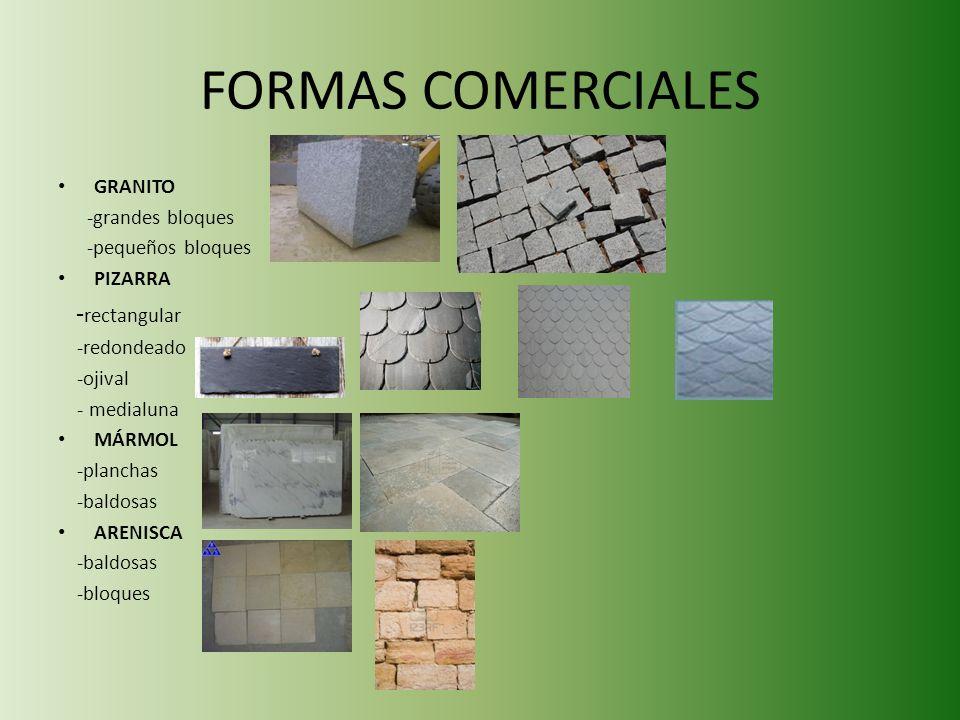 FORMAS COMERCIALES -rectangular GRANITO -grandes bloques