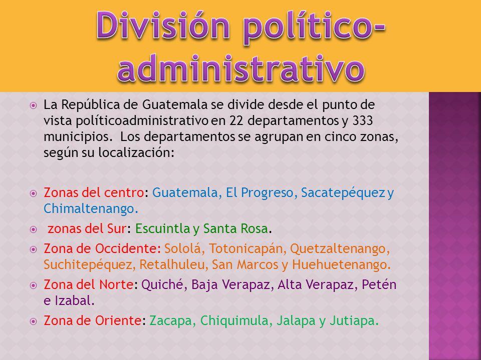 División político-administrativo