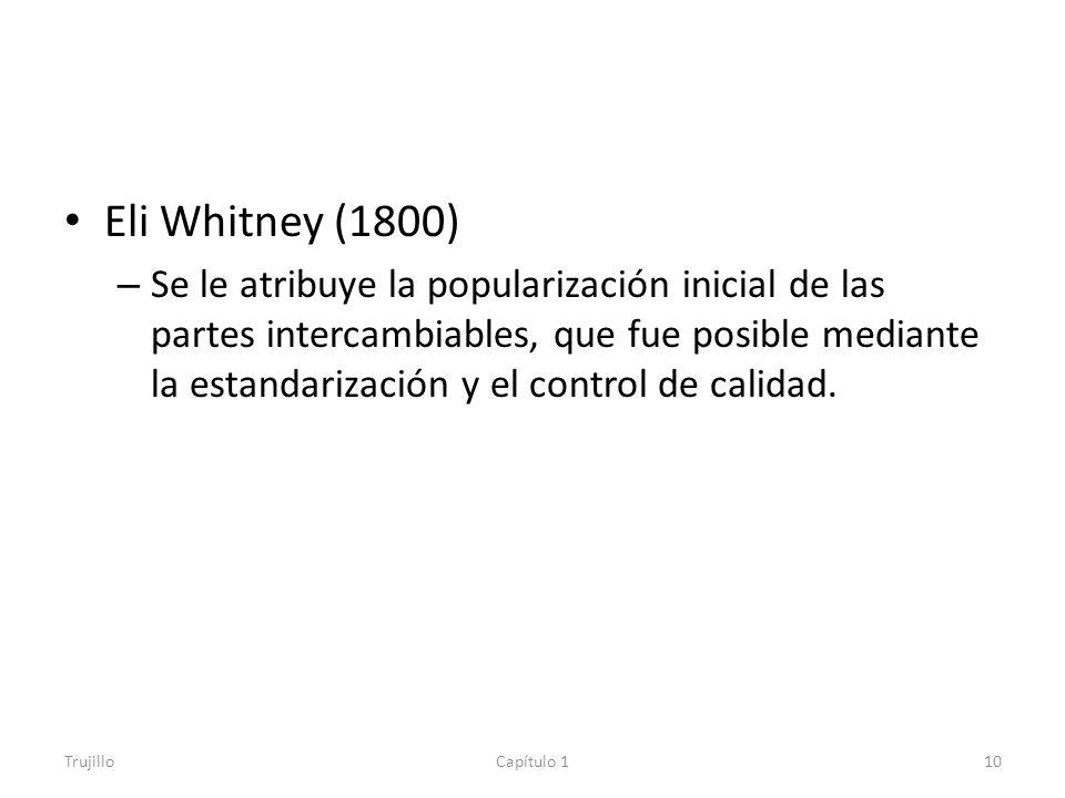 Eli Whitney (1800)