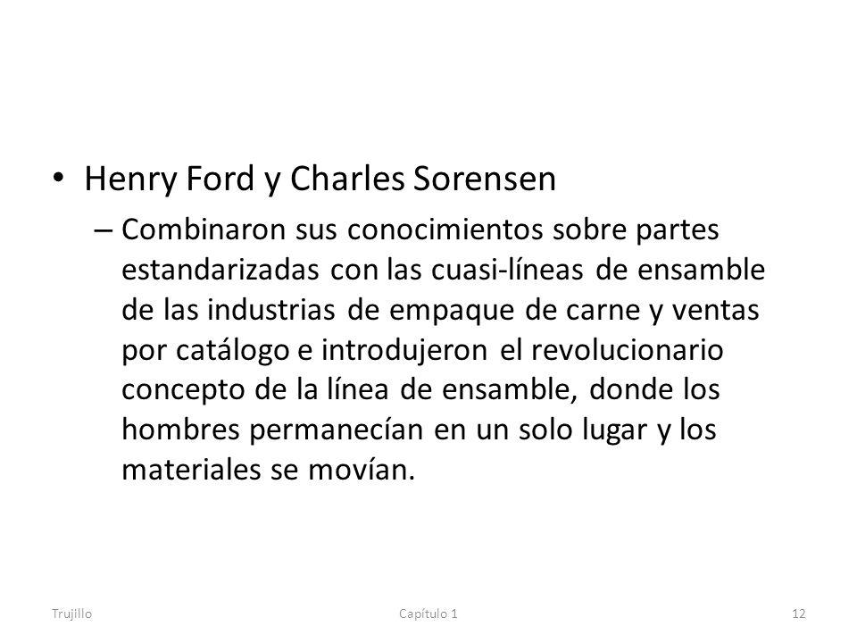 Henry Ford y Charles Sorensen