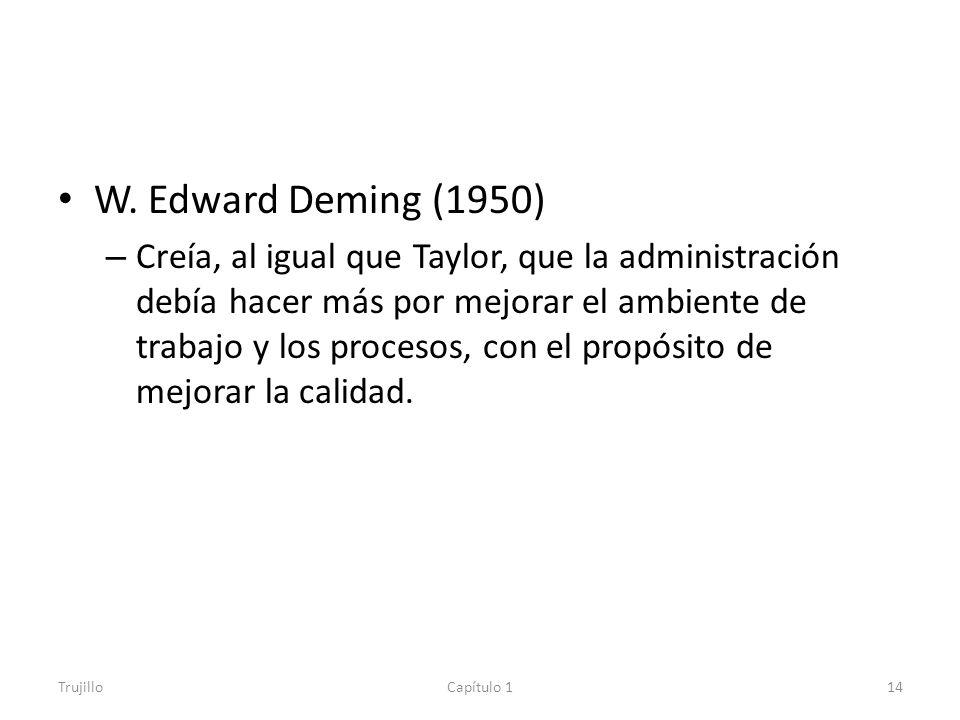 W. Edward Deming (1950)